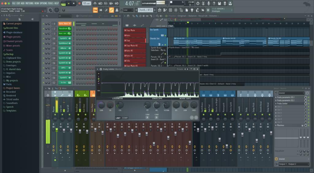 FL Studio workflow screenshot