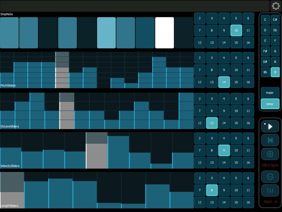 Liine Lemur touch interface for Ableton Live