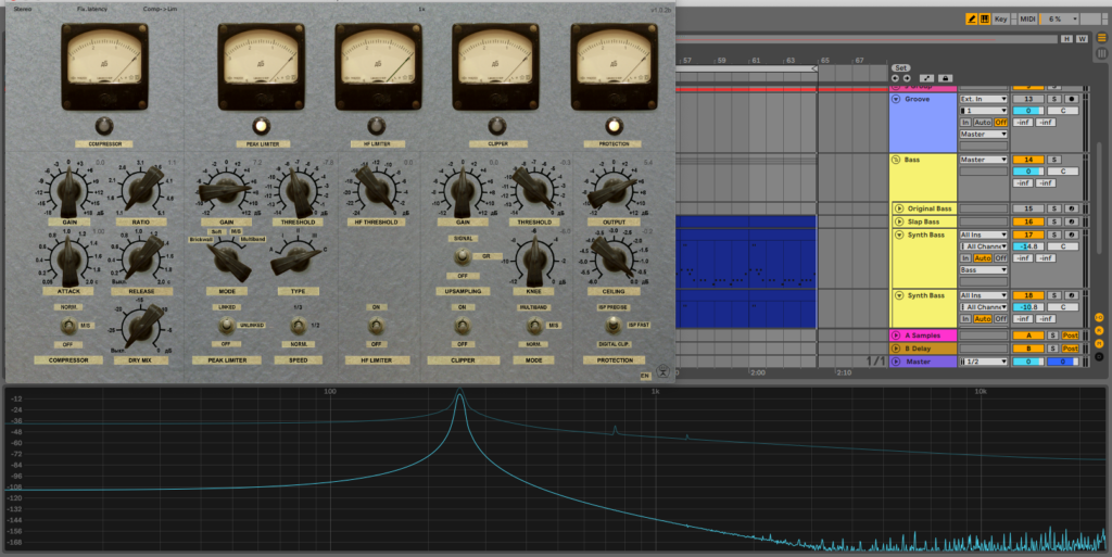 Free Limiter No.6 tests well on a sine wave source