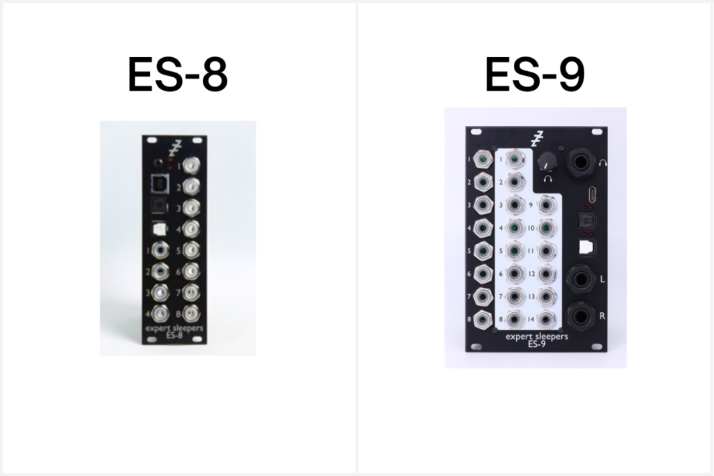 The ES-8 and ES-9 DC coupled audio interface