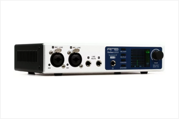 A dc coupled audio interface, the RME Fireface